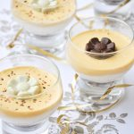 No bake mini cheesecakes with zabaione individual servings