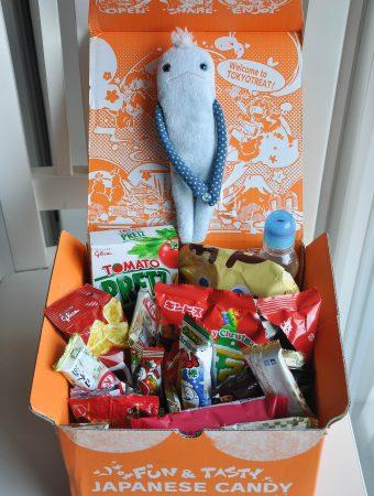 Tokyo treat opened box