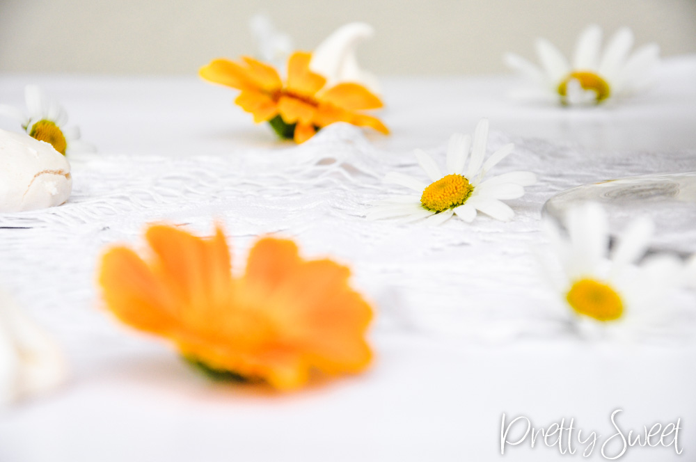 Daises and calendulas