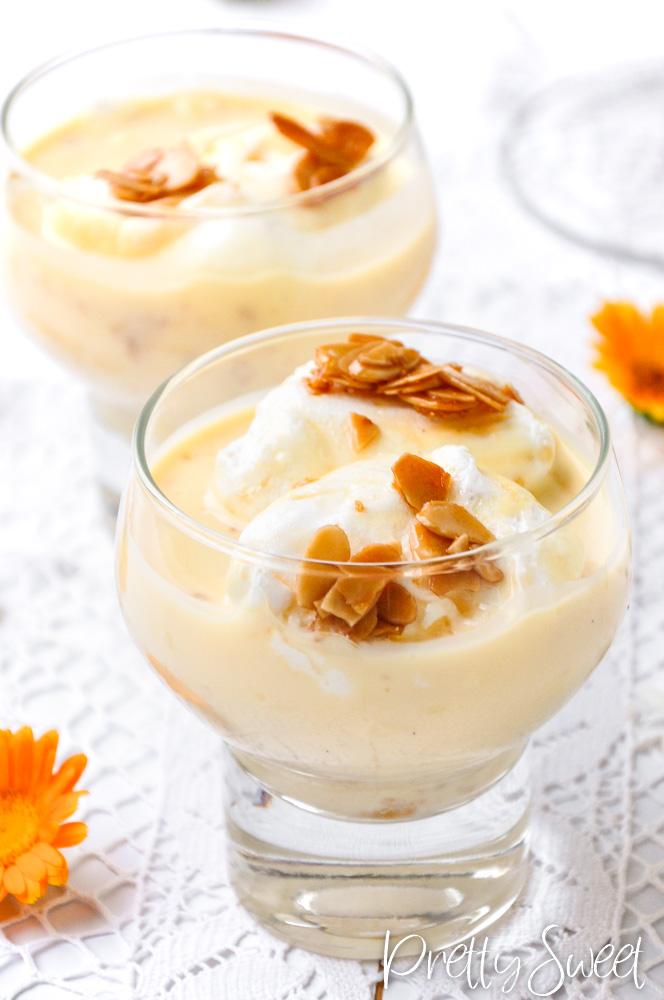 Floating Island dessert