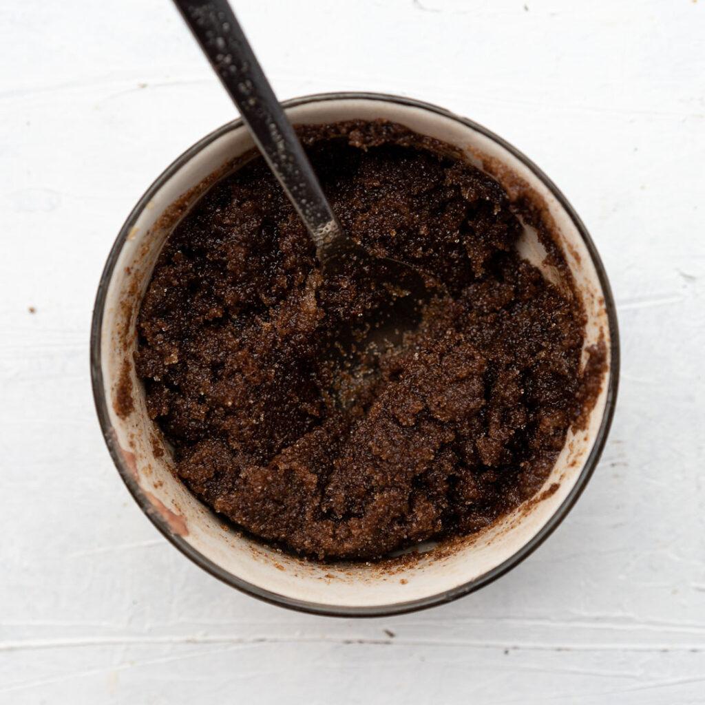 cinnamon swirl mixture in a bowl